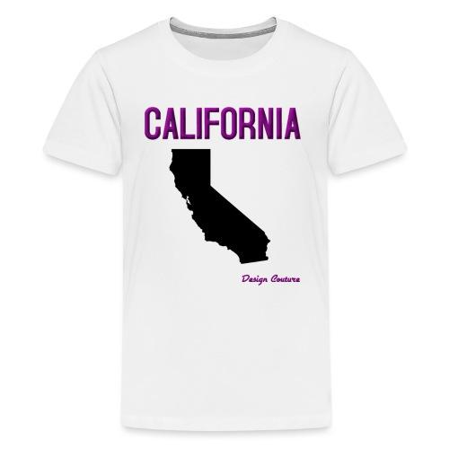 CALIFORNIA PURPLE - Kids' Premium T-Shirt