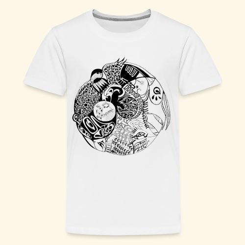 Harmonious World - Kids' Premium T-Shirt