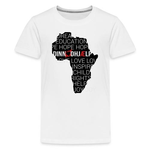 DINNoedhjaelp Africa logo - Kids' Premium T-Shirt