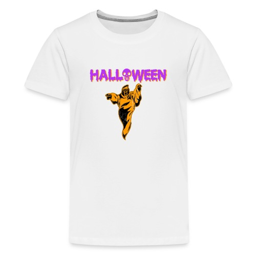 Halloween Cute Ghost Holiday T shirt - Kids' Premium T-Shirt