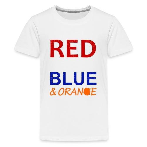 Red White Blue and Orange - Kids' Premium T-Shirt