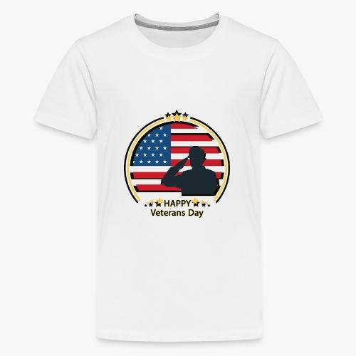 Happy Veterans Day - Kids' Premium T-Shirt