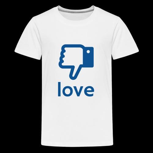 Un-LIKE Love - Kids' Premium T-Shirt