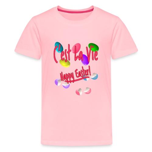 C'est La Vie, Easter Broken Eggs, Cest la vie - Kids' Premium T-Shirt