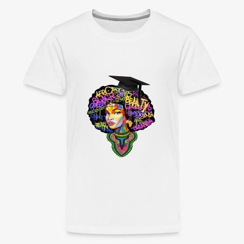 Graduation Melanin Queen Shirt Gift - Kids' Premium T-Shirt