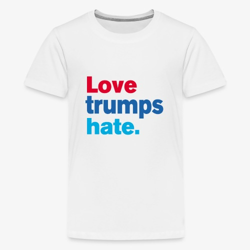 Love Trumps Hate - Kids' Premium T-Shirt