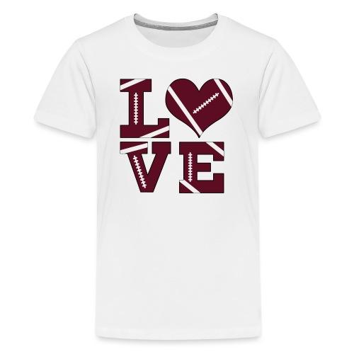 Football Love - Kids' Premium T-Shirt