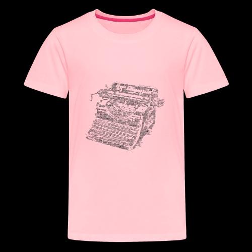 Typewritten Logophile - Kids' Premium T-Shirt