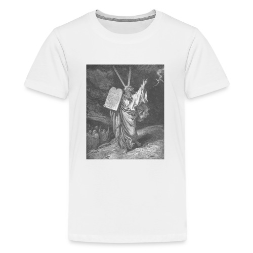 Moses brings the stone tablets - Kids' Premium T-Shirt