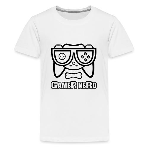 Nerds - Gamer Nerd - Kids' Premium T-Shirt