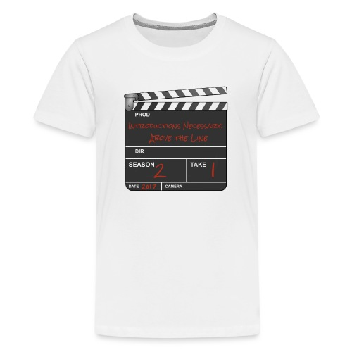 IN: Above The Line Logo - Kids' Premium T-Shirt