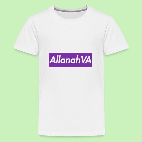 AllanahVA Supreme Purple - Kids' Premium T-Shirt