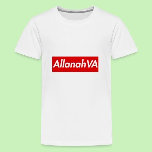 AllanahVA Supreme Red - Kids' Premium T-Shirt