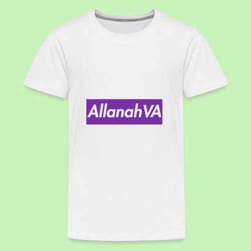 AllanahVA Supreme Purple - Kids' Premium T-Shirt
