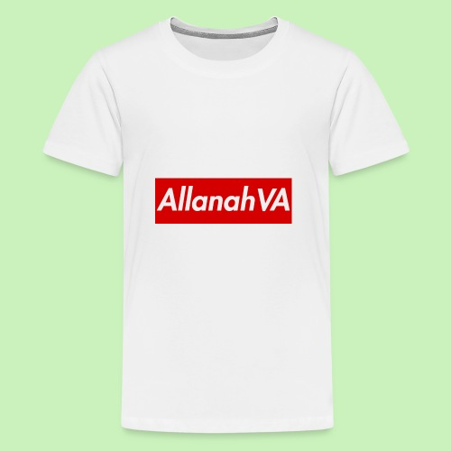 AllanahVA Supreme Red - Kids' Premium T-Shirt
