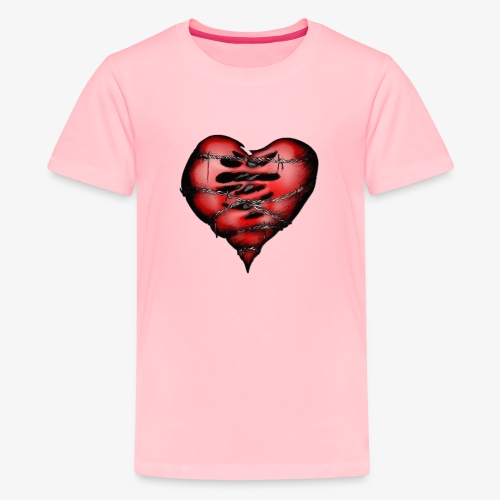 Chains Heart Ceramic Mug - Kids' Premium T-Shirt