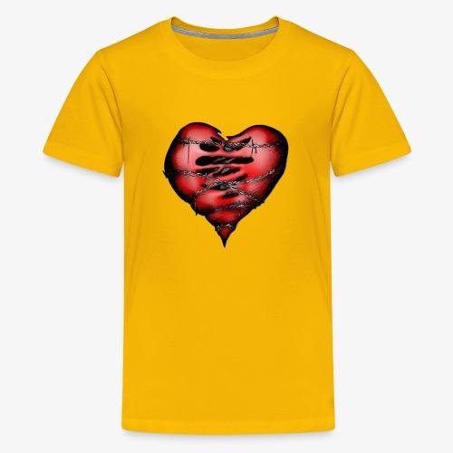 Chains Heart Ceramic Mug - Kids' Premium T-Shirt