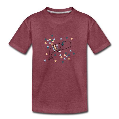 Music Whale - Kids' Premium T-Shirt
