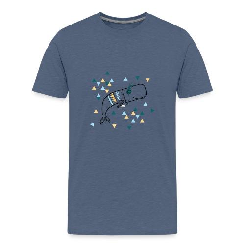 Music Whale - Kids' Premium T-Shirt