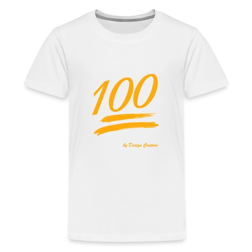 100 ORANGE - Kids' Premium T-Shirt