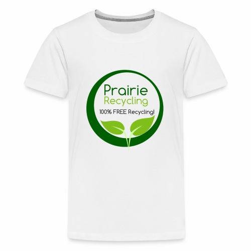 Prairie Recycling Official Logo - Kids' Premium T-Shirt