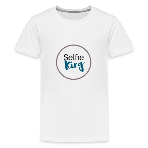 Selfie King - Kids' Premium T-Shirt