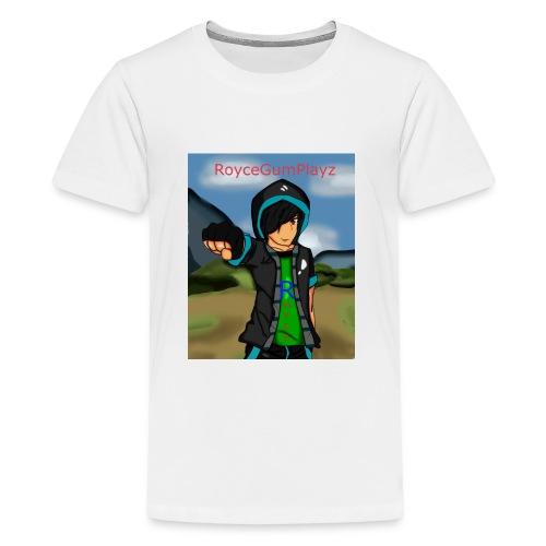 RoyceGumPlayz Official Logo! - Kids' Premium T-Shirt