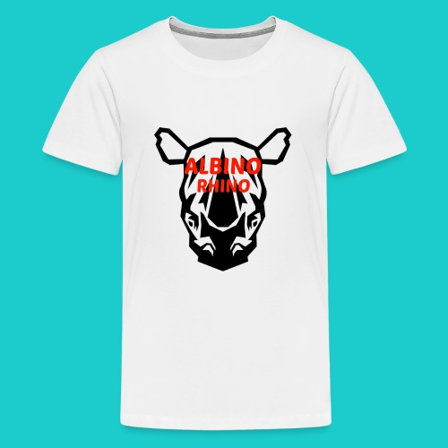Youtube logo red - Kids' Premium T-Shirt