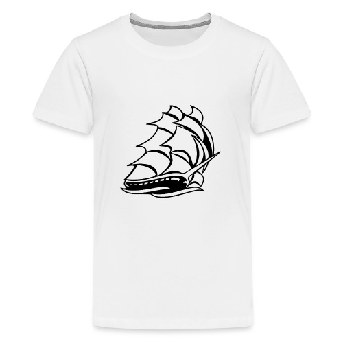 Old Tall Sailing Ship - Kids' Premium T-Shirt