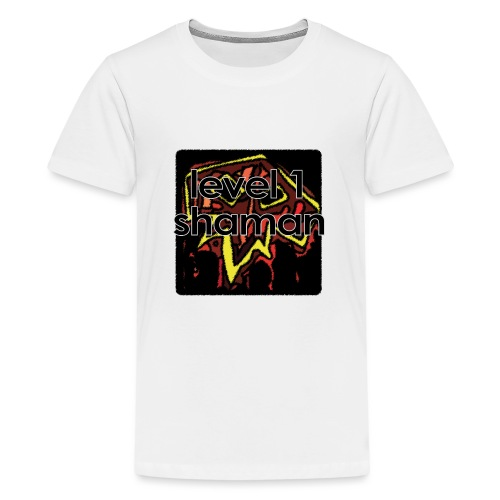 Warcraft Baby: Level 1 Shaman - Kids' Premium T-Shirt