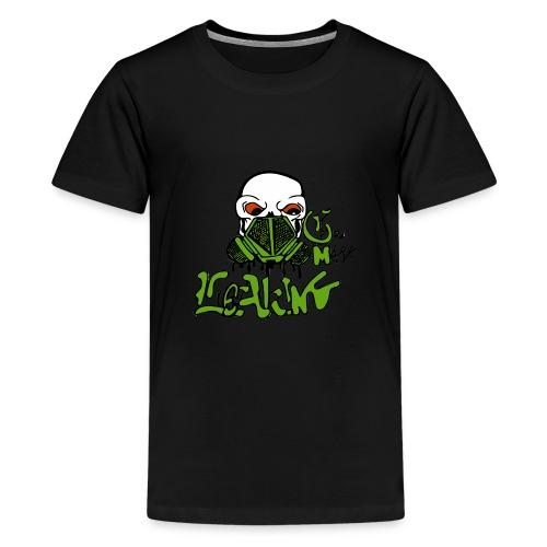Leaking Gas Mask - Kids' Premium T-Shirt