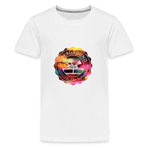 Underground_Film_Initiative_Logo_Colour_Pop_Bokeh - Kids' Premium T-Shirt