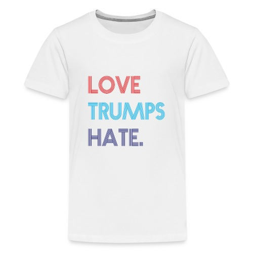 Love Trumps Hate Retro - Kids' Premium T-Shirt