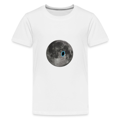 Portal on the Moon - Kids' Premium T-Shirt