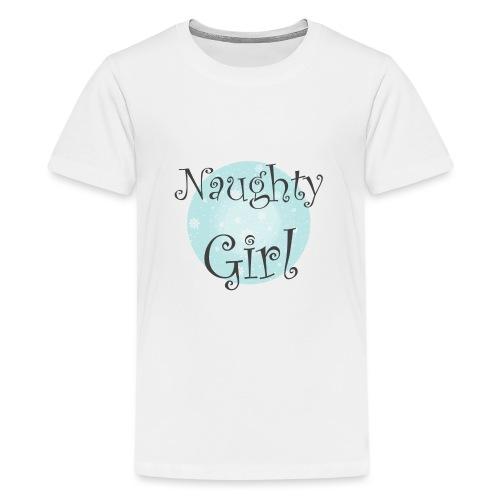 Naughty Girl 01 - Kids' Premium T-Shirt