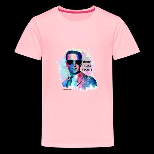 Drop it Like F. Scott   Write Music - Kids' Premium T-Shirt