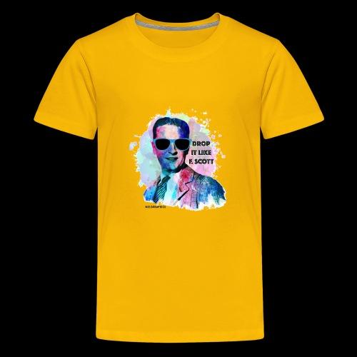 Drop it Like F. Scott | Write Music - Kids' Premium T-Shirt