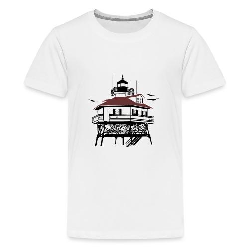 Lighthouse Drawing Illustration - Kids' Premium T-Shirt