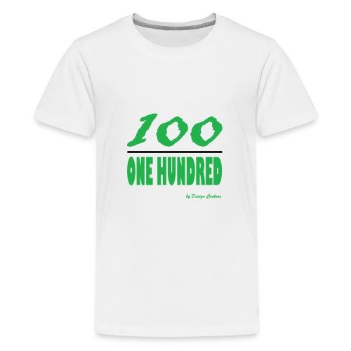 ONE HUNDRED GREEN - Kids' Premium T-Shirt