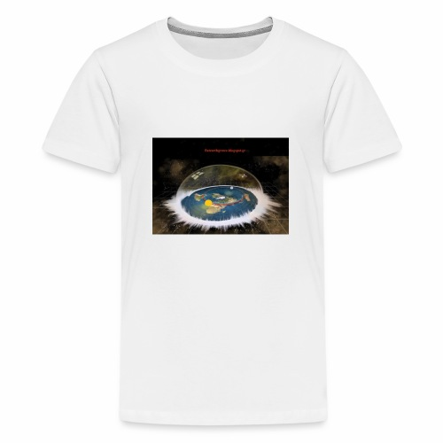 Flat Earth Dome - Kids' Premium T-Shirt