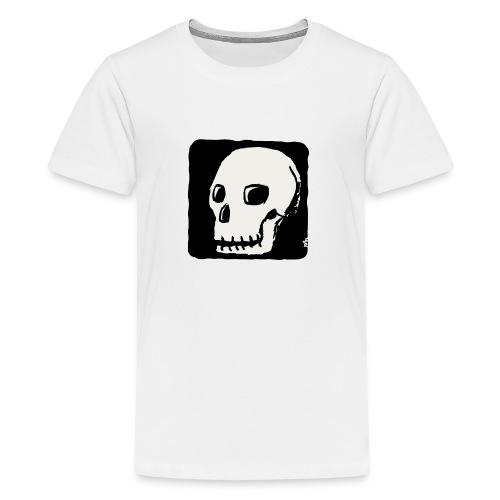 Smiling skull - Kids' Premium T-Shirt