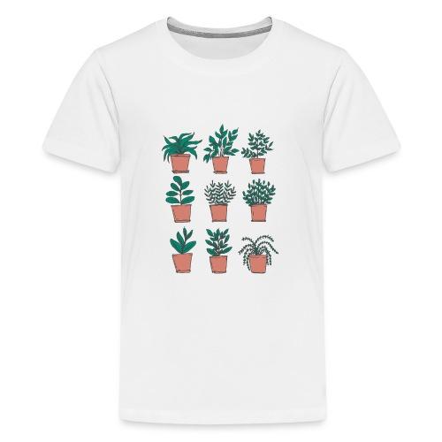 Flowerpots - Kids' Premium T-Shirt