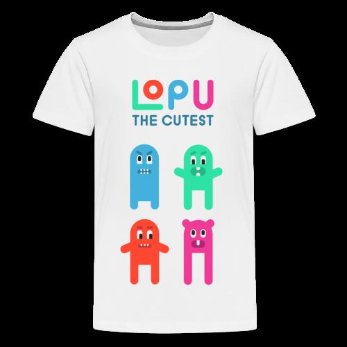 Lopu - The Cutest - Kids' Premium T-Shirt