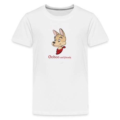 test img ooboo COLOR shirt png - Kids' Premium T-Shirt