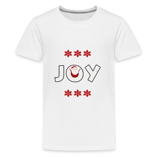 Christmas JOY Santa Clause Ugly Style - Kids' Premium T-Shirt