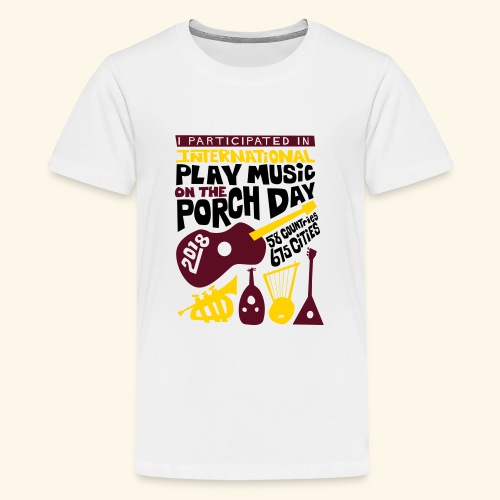 play Music on the Porch Day Participant 2018 - Kids' Premium T-Shirt