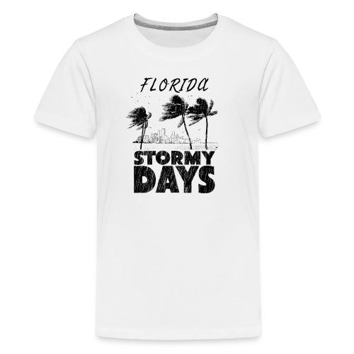Florida Irma Hurricane Tornado Storm USA 2017 - Kids' Premium T-Shirt