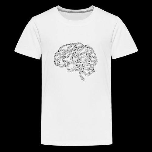 Sound of Mind | Audiophile's Brain - Kids' Premium T-Shirt