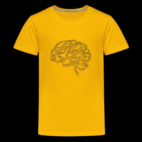 Sound of Mind   Audiophile's Brain - Kids' Premium T-Shirt