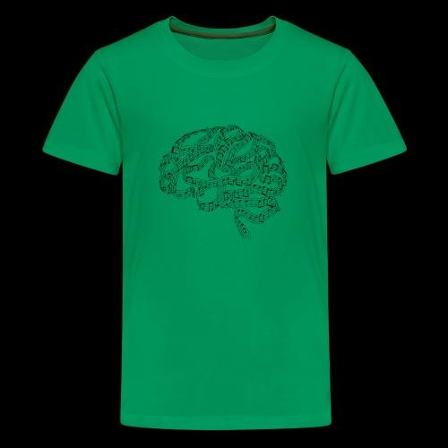 Sound of Mind | Audiophile's Brain - Kids' Premium T-Shirt